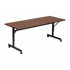 Econline Flip Top Tables - 24x72 - Walnut