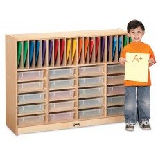 Jonti-Craft® Homework Station - with Clear Paper-Trays