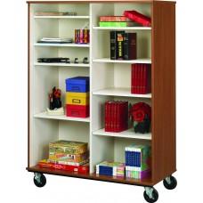 "67"" Tall - Open Divided Shelf Storage"