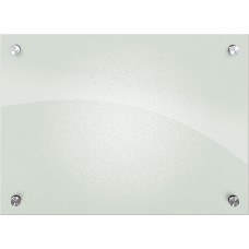 Enlighten Frosted Pearl, Non-Magnetic Glass Boards 1.5X2