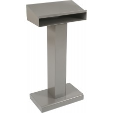 Metal Lectern (Silver)