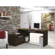 Modula L-shaped Workstation in Tuxedo