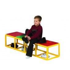 4 Section Dressing Bench
