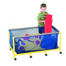 Mobile Equipment Toy Box - Rectangle