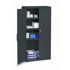 "OfficeWorks 66"" Storage Cabinet - Black"