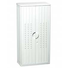 "OfficeWorks 66"" Storage Cabinet - Platinum"