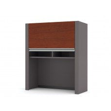 """Connexion Cabinet for 30"""" lateral file in Bordeaux & Slate"""
