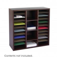 Apres™ Modular Storage Literature Organizer - Mahogany