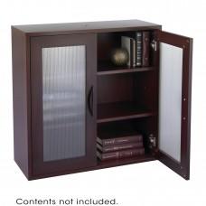 Apres™ Modular Storage 2 Door Cabinet - Mahogany
