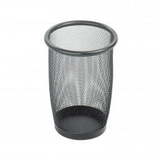 Onyx™ Mesh Small Round Wastebasket (Qty. 3) - Black