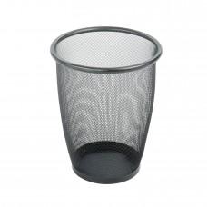 Onyx™ Mesh Round Wastebasket (Qty. 3) - Black