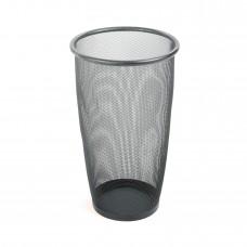 Onyx™ Mesh Large Round Wastebasket (Qty. 3) - Black