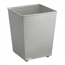 Checks Wastebasket (Qty. 3) - Gray