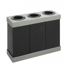 At-Your-Disposal® Recycling Center - Black/Chrome