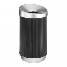 At-Your-Disposal® Vertex 38 Gallon - Black/Chrome