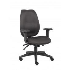 Black High Back Task Chair