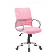 Mesh Back W/ Pewter Finish Task Chair