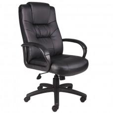 Executive High Back LeatherPlus Chair W/Knee Tilt