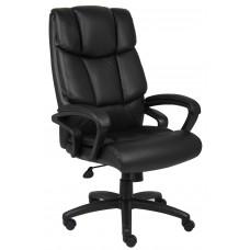 """""""Ntr"""" Executive Top Grain Leather Chair W/ Knee Tilt"""