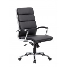 Executive CaressoftPlus™ Chair with Metal Chrome Finish