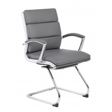 Executive CaressoftPlus™ Chair with Metal Chrome Finish - Guest Chair