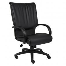 High Back Black LeatherPlus Executive Chair W/ Knee Tilt