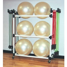 Big Ball & Fitness Caddy