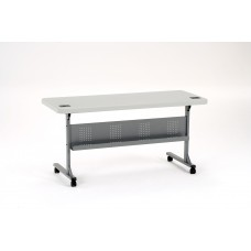"""Speckled Grey 24"""" x 60"""" Flip-N-Store Table"""