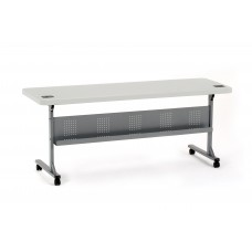 """Speckled Grey 24"""" x 72"""" Flip-N-Store Table"""