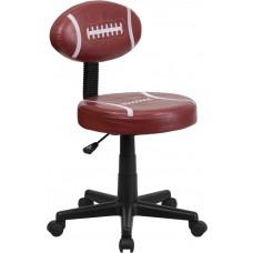 Football Swivel Task Chair [BT-6181-FOOT-GG]