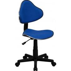 Blue Fabric Ergonomic Swivel Task Chair [BT-699-BLUE-GG]