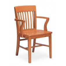 Americana Armchair - All Wood - Painted