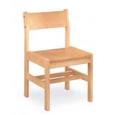 Class Act Armless Chair- All Wood - Painted
