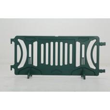 Plastic barricade - Forest Green