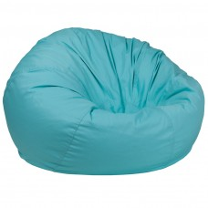 Oversized Solid Mint Green Bean Bag Chair [DG-BEAN-LARGE-SOLID-MTGN-GG]