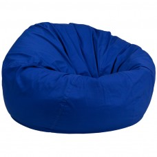 Oversized Solid Royal Blue Bean Bag Chair [DG-BEAN-LARGE-SOLID-ROYBL-GG]