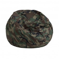 Small Camouflage Kids Bean Bag Chair [DG-BEAN-SMALL-CAMO-GG]