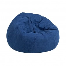 Small Denim Kids Bean Bag Chair [DG-BEAN-SMALL-DENIM-GG]