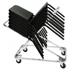 Chrome Dolly For 8200 Chair