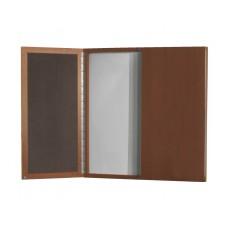 Presentation Brighton  Visual White Board 48X2 3/8Dx48H Select Color