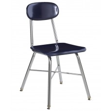 Chair Hp Seat/Back Ki Ivy League Series 10Xbrace 14'' Chr Frame Select Seat/Back Color