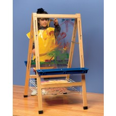 Kit Easel Adjustable Art See View With Drying Rack