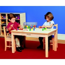 Kit Table 24'' X 48'' Rectangular With 26'' Wood Legs