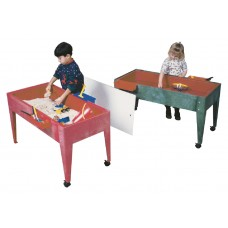 Table S+W Super S+W Act Center Red 2 Casters