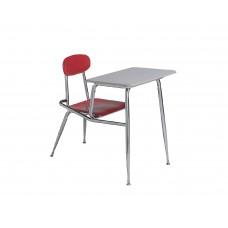 Combo Desk Hp Seat/Back Ki Ivy League Series 56 Std Angle Top No Bookrack Chr Frame Select Seat/Back Color Select Top Color