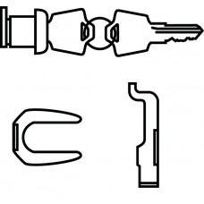 Specify Random Or Key Number Lock Chrome Core Removable Lock Kit For Files Each