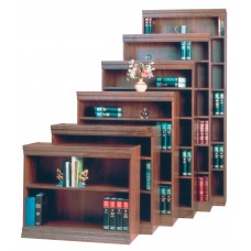 Bookcase Wood Norson'S Jefferson Novacore 6 Shelf 36Wx12Dx84H Specify Color