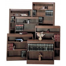 Bookcase Wood Norson'S Contemporary Lumbercore 6 Shelf 36Wx12Dx84H Specify Color