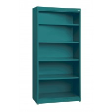 Bookcase Steel Sandusky Lee Radius Edge 36Wx18Dx72H Specify Color