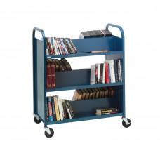 Library Cart Bretford Slant Shelf Booktruck 37Wx18Dx42H Specify Color